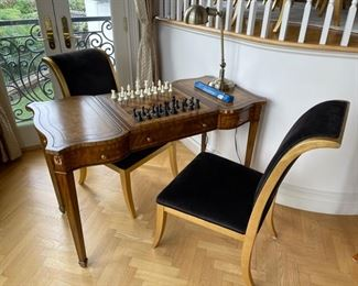 gaming table by Maitland Smith 2feet by 58 inches long and 31 inches high