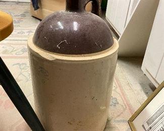 Huge stoneware jug