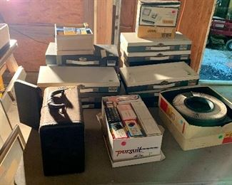 A huge collection of photo slides Military Vacations 50's, 60's and 70's