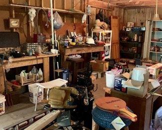 Packed Garage