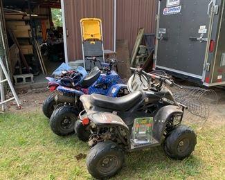 2 Youth 4 wheelers (Hinson)
