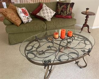 LOVELY COUCH, COFFEE TABLE