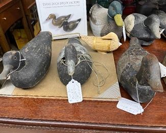 Vintage Duck Decoys. FIRM  from old collector  will not last long