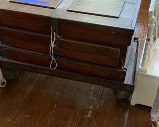 Antique tool chest