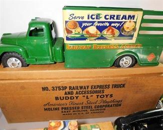 Buddy L Toys Railway Express truck