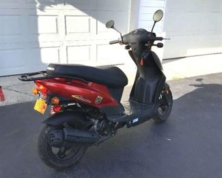 001 2007 Kymco Motor Scooter