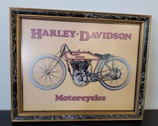 HARLEY DAVIDSON PRINT
