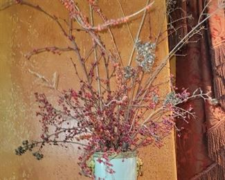 "Pair of Celadon Brass Lion Planters 8""Hx7.5""W"
