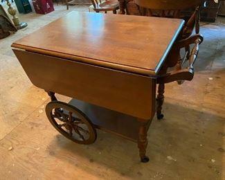 Duncan Phyfe Tea Cart