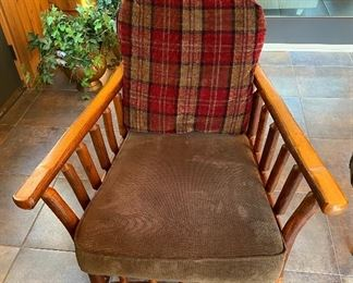 Stunning! These Old Hickory chairs measure 36x29x30 inches.
