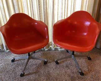 Vintage 1960's Herman Miller Chairs