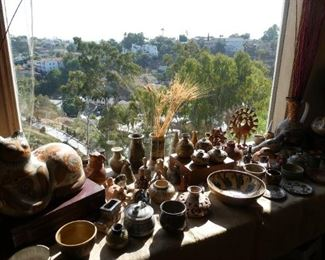 Mexican pottery and handmade pottery - come see the amazing view of Point Loma!