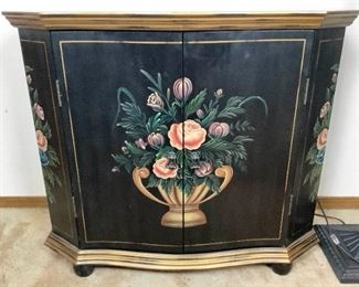 Rijo217 Lamps Floral Cabinet