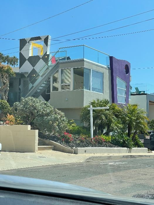 The home is also for sale - contact Keith York of Modern San Diego