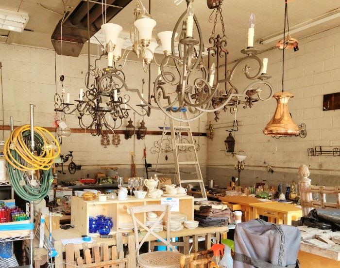 Warehouse full of treasures from three homes!
