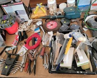 Many tools!