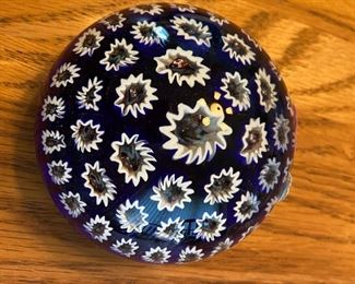 One of several beautiful paperweights