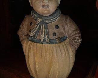 Antique figural humidor
