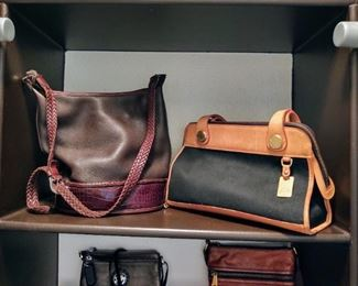 Brighton, Dooney & Burke bags