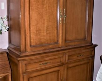 Custom Music Cabinet Closed