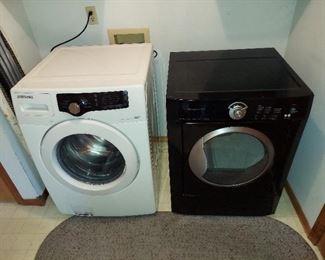 Samsung Washer, Frigidaire Elec. Dryer