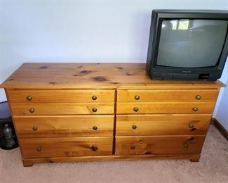 Pine juvenile dresser $40