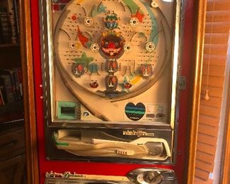 This is a Pachinko machine, which sounds unwoke but it isn't