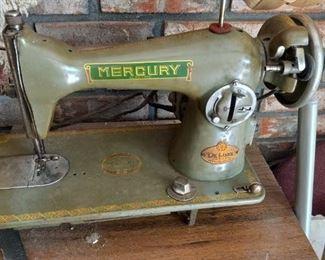 Antique Mercury sewing machine