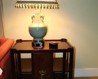 side table 27w x 18d x 25h