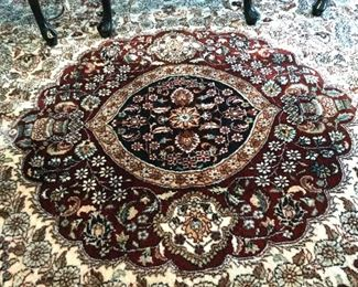 Center pattern of area rug