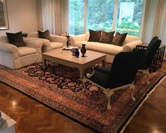 See following photos for description....please note the area rug is not for sale.