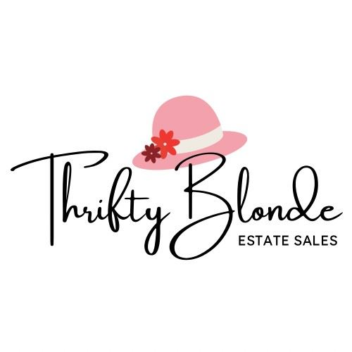 Thrifty Blonde Square Logo