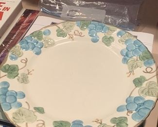 Four Place Settings of these gorgeous Dishes