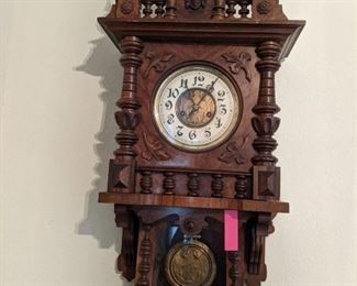 19th Clock Kienzie Pendulum Regulator  $425