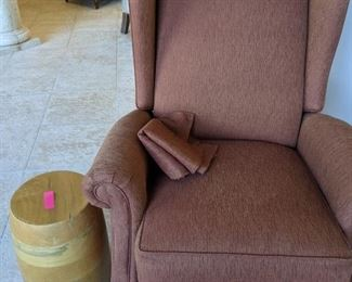 Wing Back Chairs $145 ea there are two