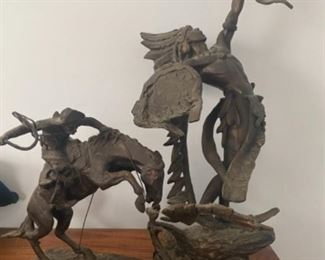 Remington Bronzes from Franklin Mint