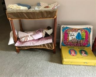 Vintage Barbie, Skipper & Skooter w/ Lots of Clothes & Accessories