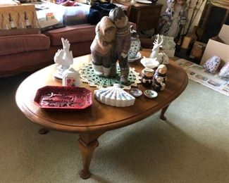 Large Lladro, Coffee Table, Decorative Items