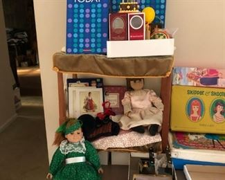 American Girl Doll, Bed, Accessories, Vintage Barbie, Skipper & Skooter w/ Lots of Clothes & Accessories