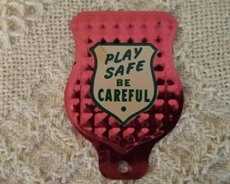 bicycle tag topper
