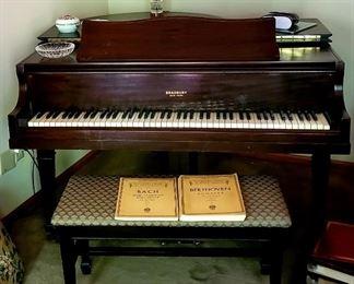 Bradbury New York Baby Grand Piano