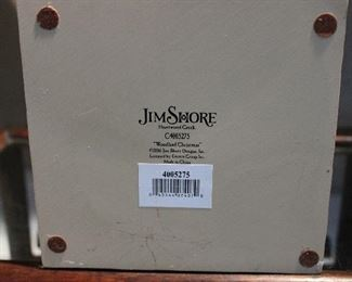 Jim Shore Santa Claus!  We just dug out the Christmas -- tubs and tubs and tubs of it!  Antique/Vintage/Modern!