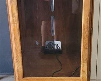 Wooden Cabinet No Key