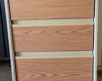 Rolling Cabinet With 3 Drawers