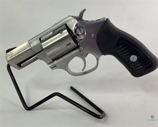 """Ruger .38 Special Double-Action Revolver Model 5701. Chambered in .38 Special. Rubber grips. 2.25"""" Stainless Barrel, Cylinder and Frame. 5 Shot. Comes with original box and manual. Shipping to Licensed FFL Dealer only."""
