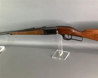 Savage Arms .303 Vintage Lever Action Rifle. Octagon Barrel. Action seems to work fine. Shipping to Licensed FFL Dealers only.