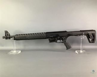 "NEW: Charles Daly AR12S 12GA Shotgun Semi Auto. Charles Daly Defense 12GA. 3"" Magnum. 5+1. 18.5"" Barrel. Adj Stock. Synthetic Pistol Grip. New in box"