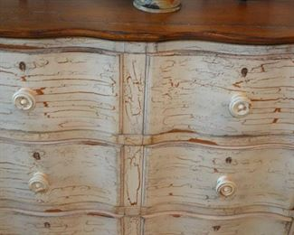 Bedside dresser by Drexel.  We have two of these dressers and both in great shape.