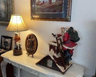 Vintage Christmas display