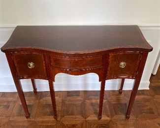 Rare Baker historic Charleston collection console or buffet